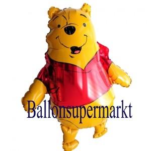 Luftballon Winnie Pooh, Folienballon mit Ballongas