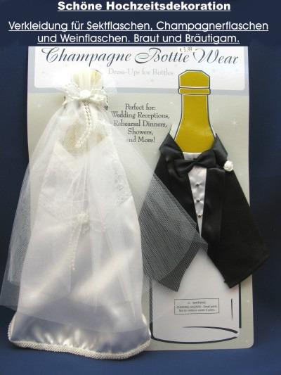Hochzeit Dekoration für Champagner, Wein und Sekt