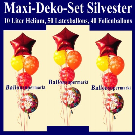 Maxi-Luftballons-Helium-Set-Silvester-Happy-New-Year