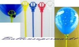 Ballonstäbe für Luftballons, einteilige Luftballonstäbe