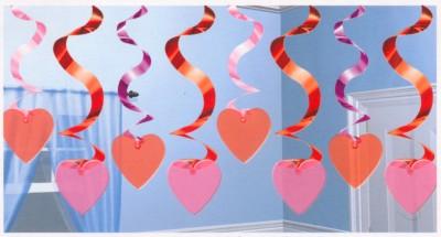 Dekoration mit Herzen, Hochzeit und Liebe