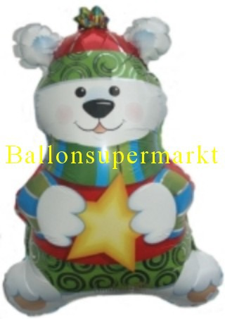 Polarbär Luftballon