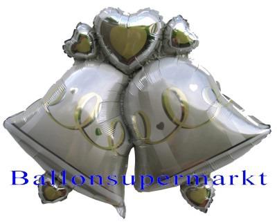 Hochzeitsglocken Luftballon