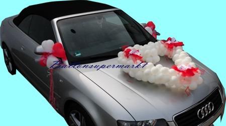 Romantische-Hochzeitsdekoration-Hochzeitsauto