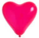 Herzballon Rot