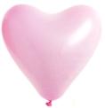 Herzballon Weiß