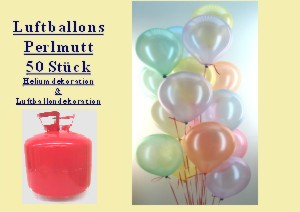 Luftballons Helium