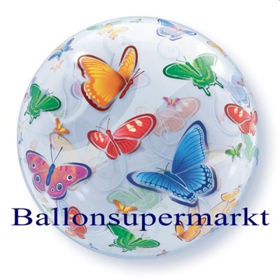 Schmetterlinge-Bubble-Luftballon-2