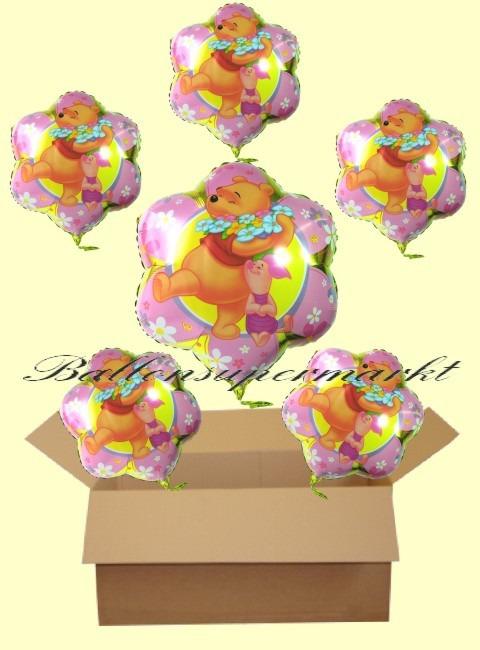 Puuh-Flower-Luftballons-Geschenke-Kindergeburt