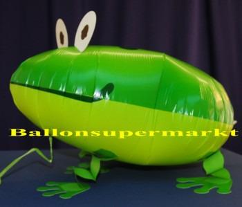 Frosch-laufender-Luftballon