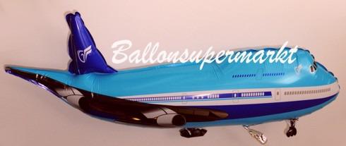 Flugzeug-Luftballon-aus-Folie