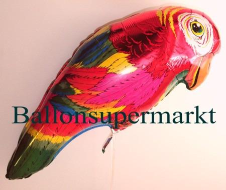 Bunter-Papagei-Luftballon-aus-Folie