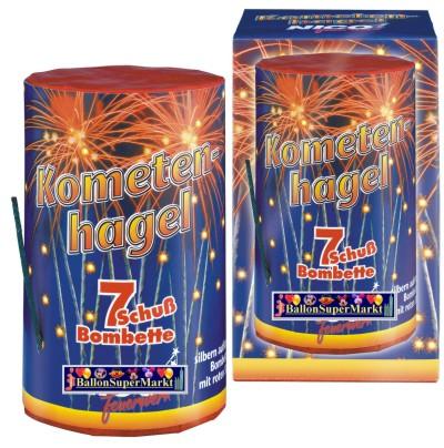 Feuerwerk Kometenhagel, Hochzeit, Silvester, Party und Event mit Batteriefeuerwerk