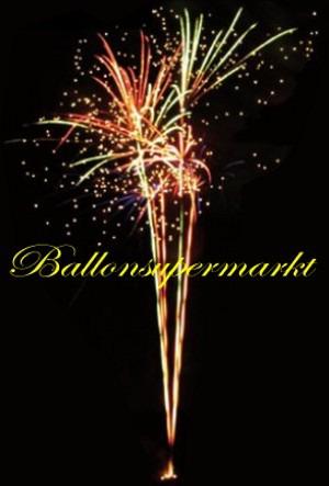 Paris-Batteriefeuerwerk-Feuerwerkseffekt
