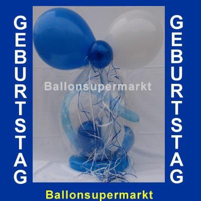 Geschenk im Ballon, Geburtstagsgeschenk