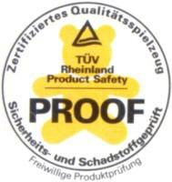 Luftballons Zertifikat: Ohne Schadstoffe, biologisch unbedenklich