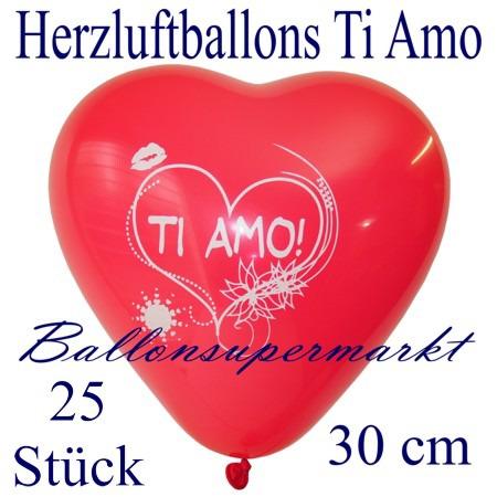 Herzluftballons-Liebe-Ti-amo-25-Stück