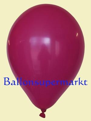 Luftballons Rundballons Oval Fuchsia