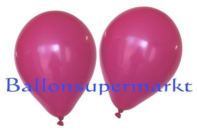 Luftballons Standard Rundballons Oval Fuchsia