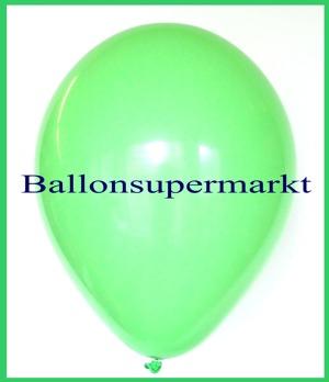 Luftballons Rundballons Oval Mintgrün