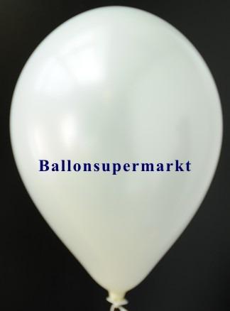 Luftballon-Weiss