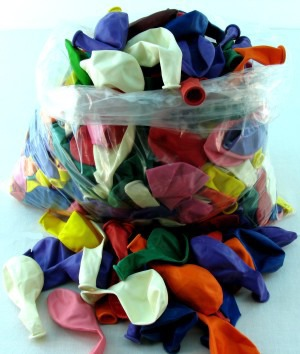 Luftballons 30 cm Einzelfarben