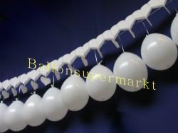 Hochzeitsdekoration Herzgirlande Luftballons 04