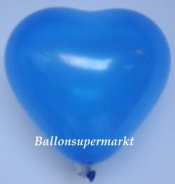 Blauer-Herzluftballon-Mini