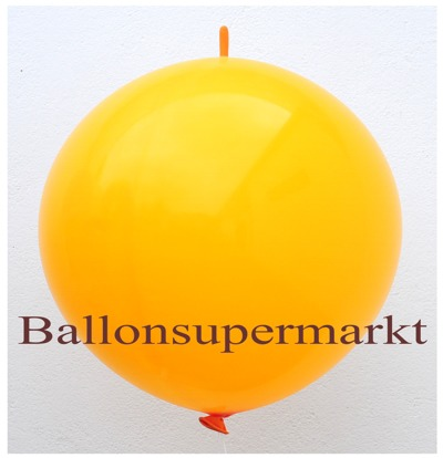 riesen-kettenballon-orange