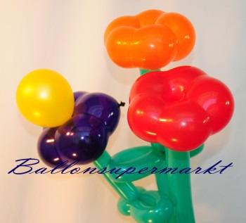 Dekoration-Blumen-Luftballons-Luftballonblueten