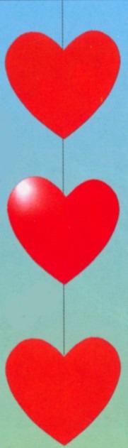 Herzdeko Hochzeit und Liebe Dekoration