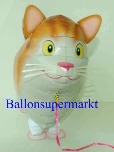 Lustige-Katze-Luftballon-mit-Helium