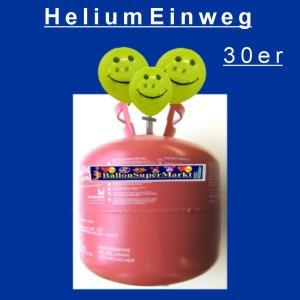 Helium Einweg, Ballongas Einweg