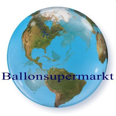 Planet-Erde-Welt-als-Luftballon-Weltkugel-Ballon