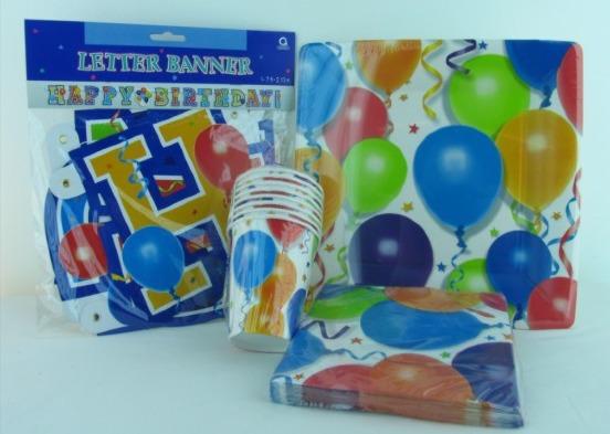 Kindergeburtstag-Dekoration-Luftballons-Balloons