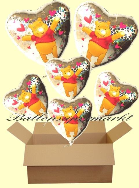 Puuh-Holografik-Luftballons-Geschenke-Kindergeburts