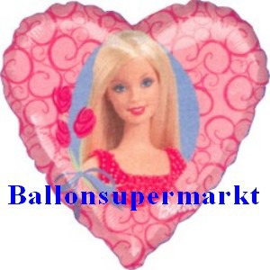 Barbie Luftballon