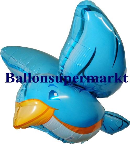 Vogel-3-dimensional-Luftballon-aus-Folie