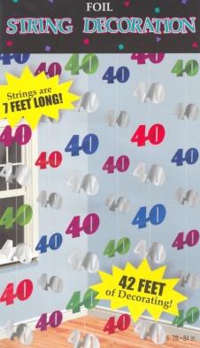 string dekoration 40 festdekoration geburtstagsdekoration. Black Bedroom Furniture Sets. Home Design Ideas