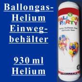 Helium-Einweg-Behälter