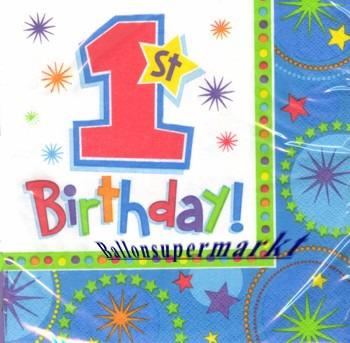 Geburtstagsservietten-1.-Kindergeburtstag-A-One-derful-Birthday-Boy-Servietten