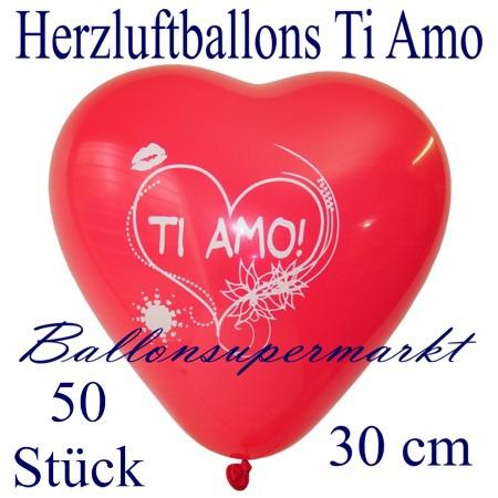 Herzluftballons-Liebe-Ti-amo-50-Stück