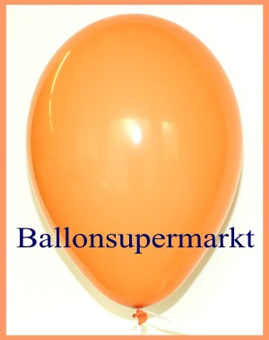 Luftballons Rundballons Oval Pfirsich