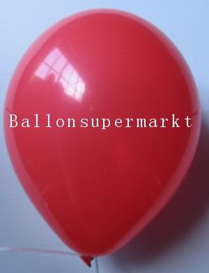 Luftballons Rundballons Oval Rot
