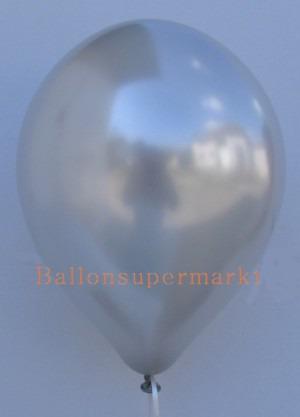 Luftballon Silber Metallic