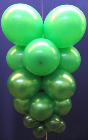 Luftballons: Ballontraube, Luftballontraube, Party und Festdekoration