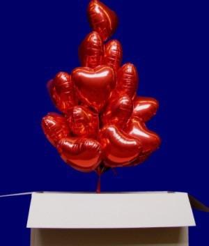 """Herzballons Hochzeit Liebe Zuneigung Dekoration """"You are my Heart"""""""