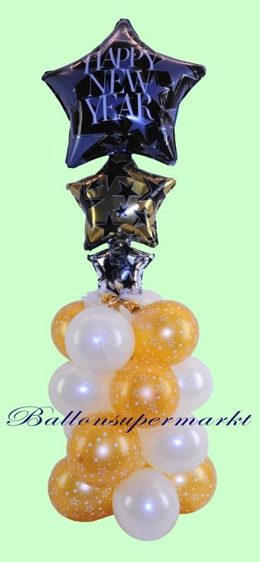 Happy-New-Year-Ballondeko-Silvester-Partydeko