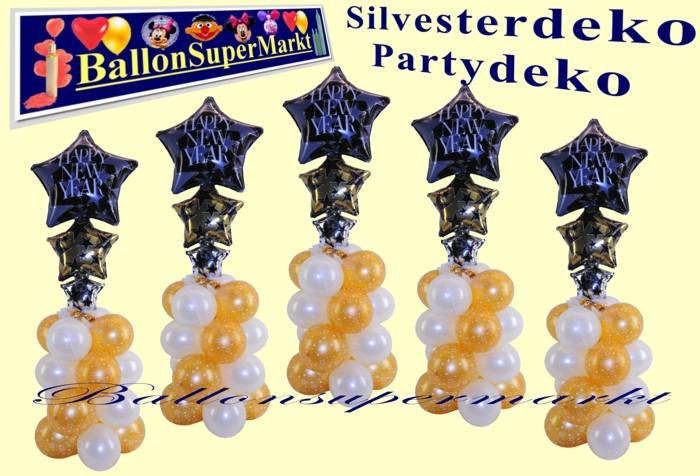 Happy-New-Year-Ballondeko-Silvester-Silvesterpartydeko