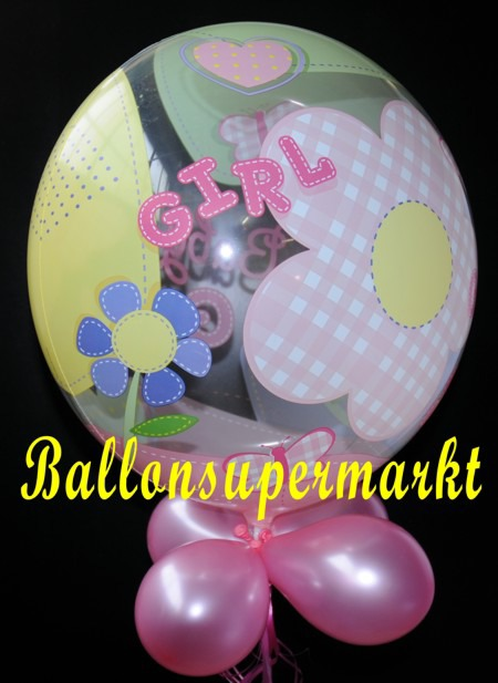 Geburt-Baby-Girl-Bubble-Luftballon-2